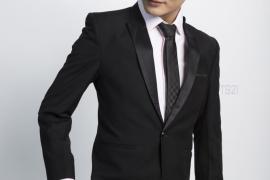 Suit cưới đen phong cách Hàn Quốc – Điểm nhấn trong thiết kế