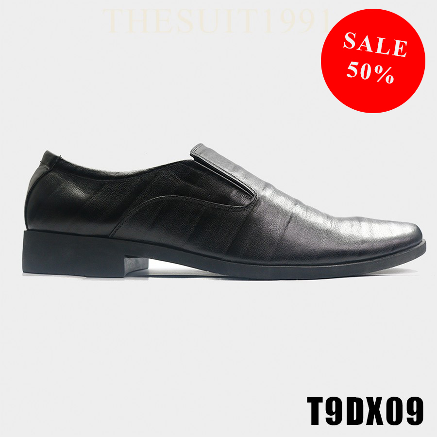 Black Fall Collection Classic Leather Shoes T9DX09 #0