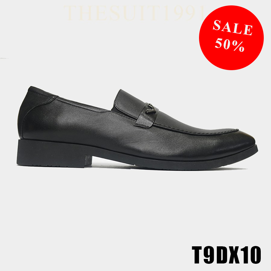 Black V – Classic Leather Shoes T9DX10 #0